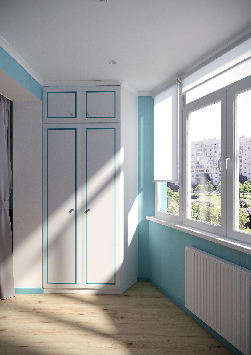 Балкон детская шкаф 1
