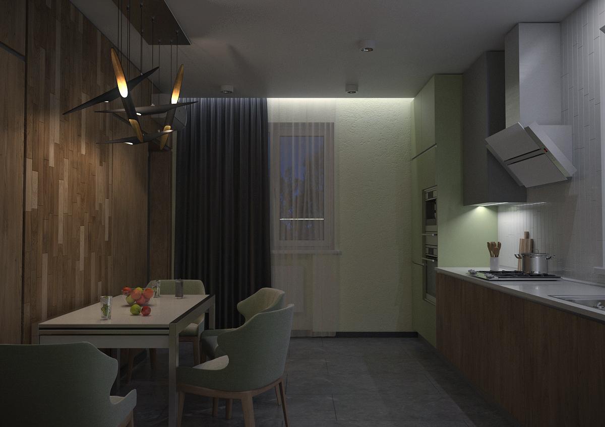 Кухня 5 ночь