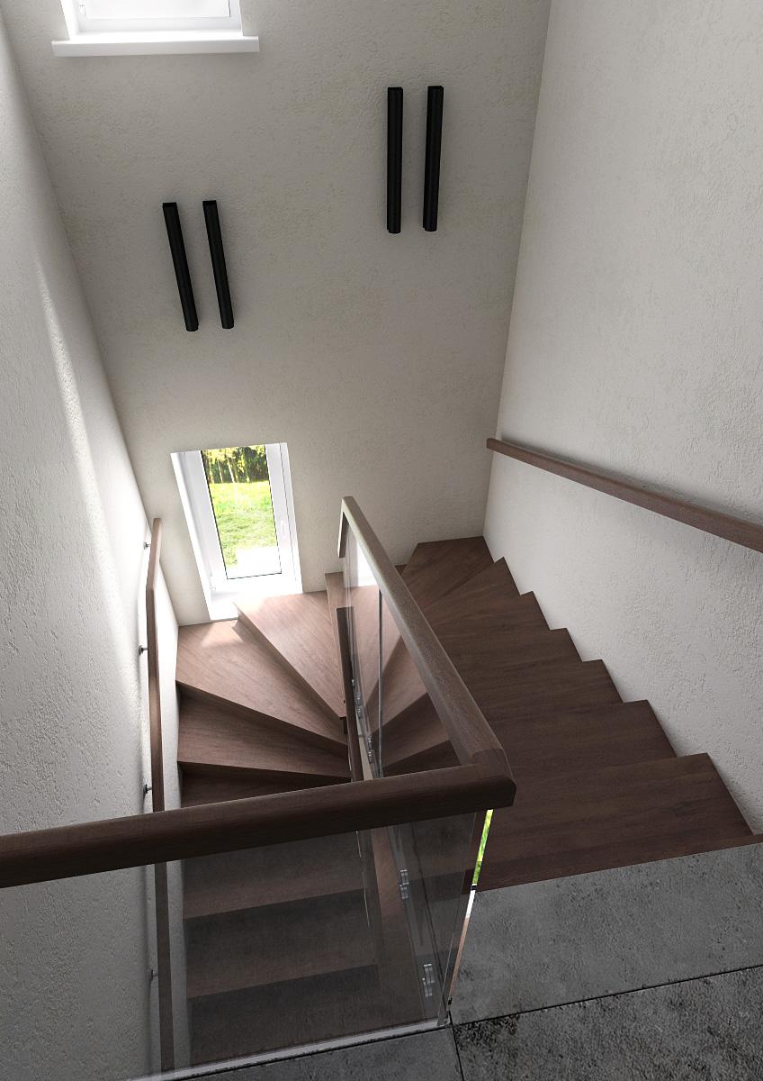 лестничная площадка 2-1 день сверху