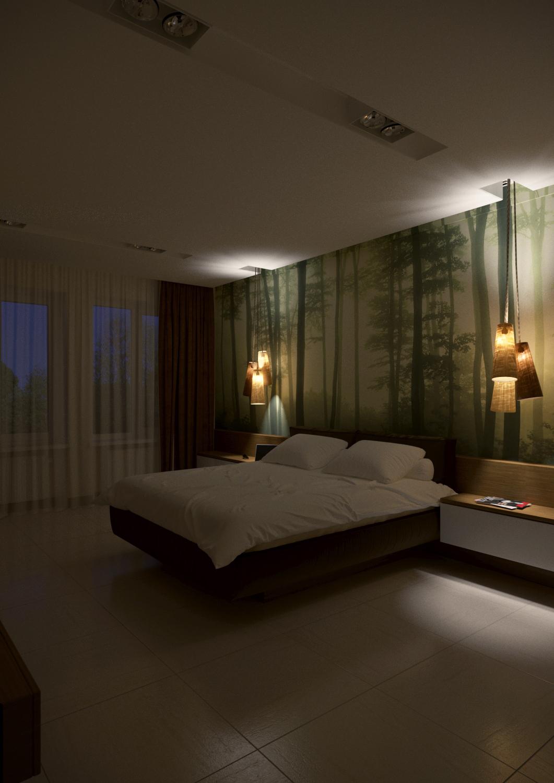 спальня 1 бра