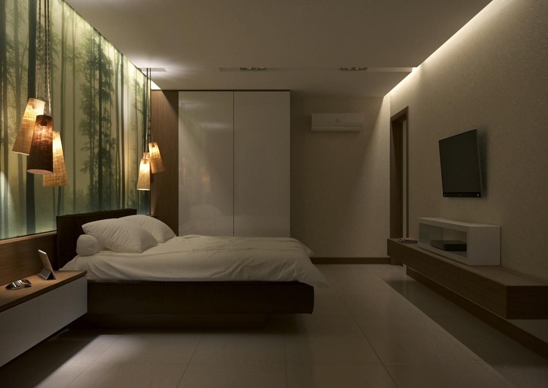 спальня 3 подвес. лед